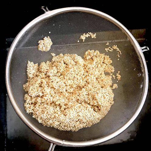 Quinoa en agua
